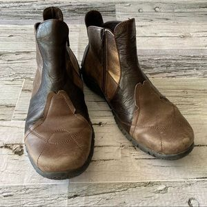 Josef Siebel Leather ankle boots